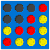 4 in a line - connect 4 kids Icon
