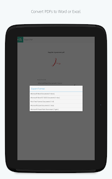 Adobe Acrobat Reader APK screenshot thumbnail 13