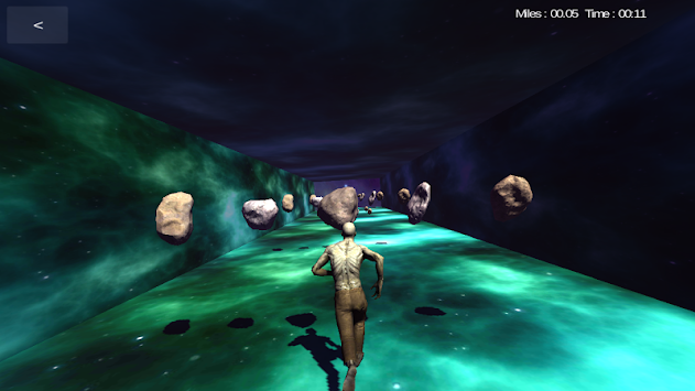 VR & AR Space Run apk screenshot