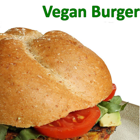 Homemade Vegan Burger Recipe (gluten-free)
