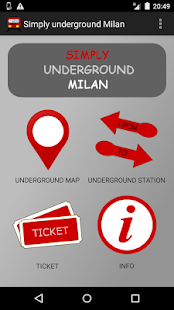 Simply underground Milan - screenshot