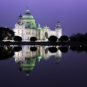 Royal Victoria Memorial Hall. by Tathagata Fotography - City,  Street & Park  Historic Districts