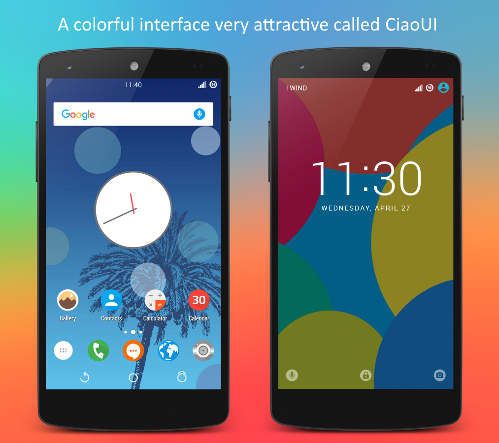 CiaoUI - CM12/CM13 Theme Screenshot
