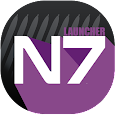 Launcher Note 7 theme