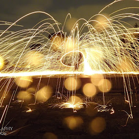 by Vanja Keser - Abstract Fire & Fireworks