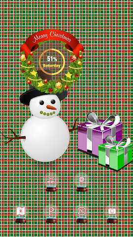 android The Snowman With A Hat Screenshot 2