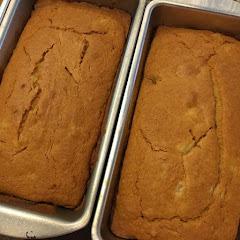 Vegan GF Ginger Pear Dessert Bread