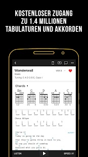 Ultimate Guitar: Chords & Tabs Screenshot