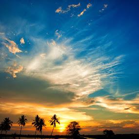 Pendang by Nuzul Taufiq - Landscapes Sunsets & Sunrises ( lanskap, kedah, pendang, sunset, langkawi, nuzultaufiq )
