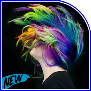 Download women hairstyle glow in the dark for PC