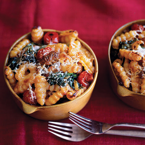 Baked Cavatelli with Sausage and Broccoli Rabe