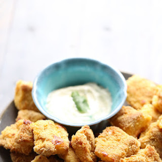 Baked Catfish Bites