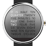 Wordy Watch Face Icon
