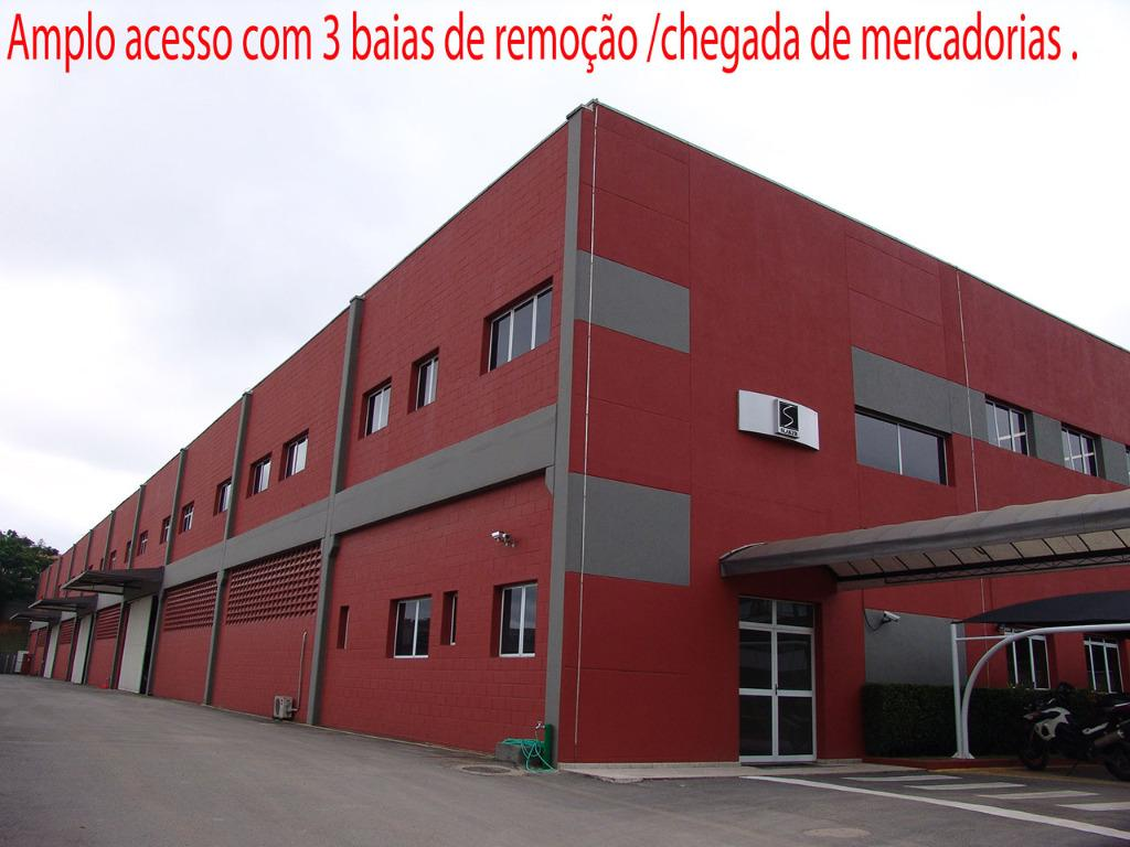 Galpão Industrial para venda ou locação com 6014,96m² de área construída- km 22 da Rod. Raposo Tavares - Cotia - SP.