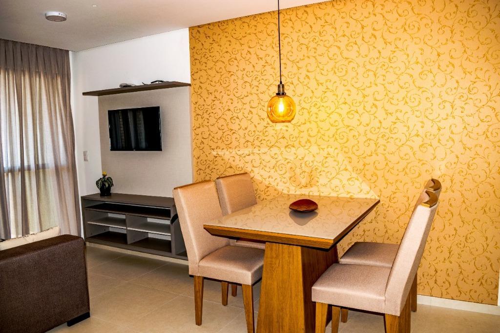 Apartamento com 1 dormitório à venda, 47 m² por R$ 393.968 - Tambaú - João Pessoa/PB