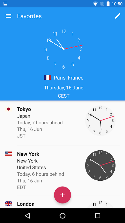 World Clock by timeanddate.com Screenshot 0