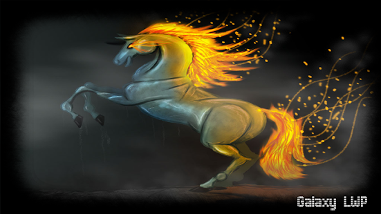 Horse Fire Pack 2 Wallpaper - screenshot