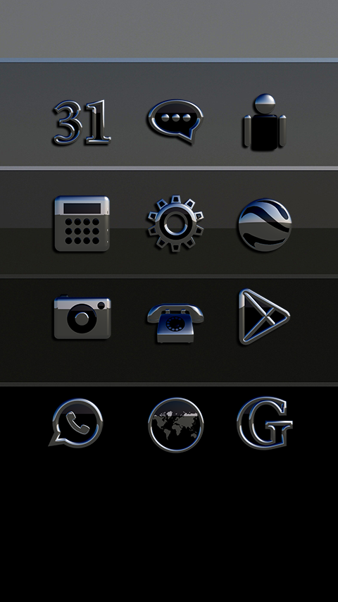 Icon Pack Sakato 3D Screenshot 2
