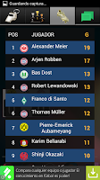 Screenshot of Widget Bundesliga 2014/15