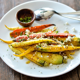 Za'atar Grilled Carrots