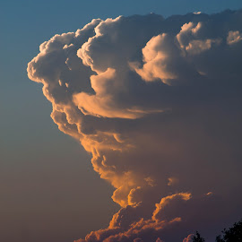 Cloud Tower by Anna Varwig - Landscapes Cloud Formations (  )
