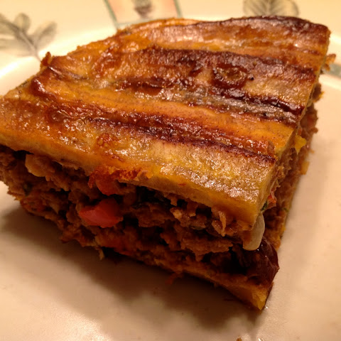 Pastelón (Puerto Rican Lasagna with Plantains)
