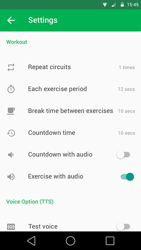7 Minute Workout Pro Screenshot 6
