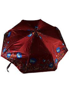 """Зонт """"Компакт L"""", 110см, бордовый"""