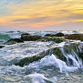 { Wild & Wavy Gulf of Mexico ~ 26 July }  by Jeffrey Lee - Landscapes Waterscapes ( { wild & wavy gulf of mexico ~ 26 july } )
