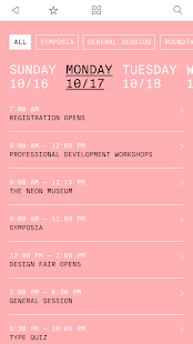 AIGA Design Conference 2016 - screenshot
