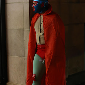 Caped Crusader  by VAM Photography - Public Holidays Halloween ( costume, places, man, culture, halloween,  )