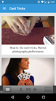 Screenshot of Card Tricks - How to do Magic