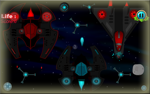 Galaxy Shooter Space War HD - screenshot