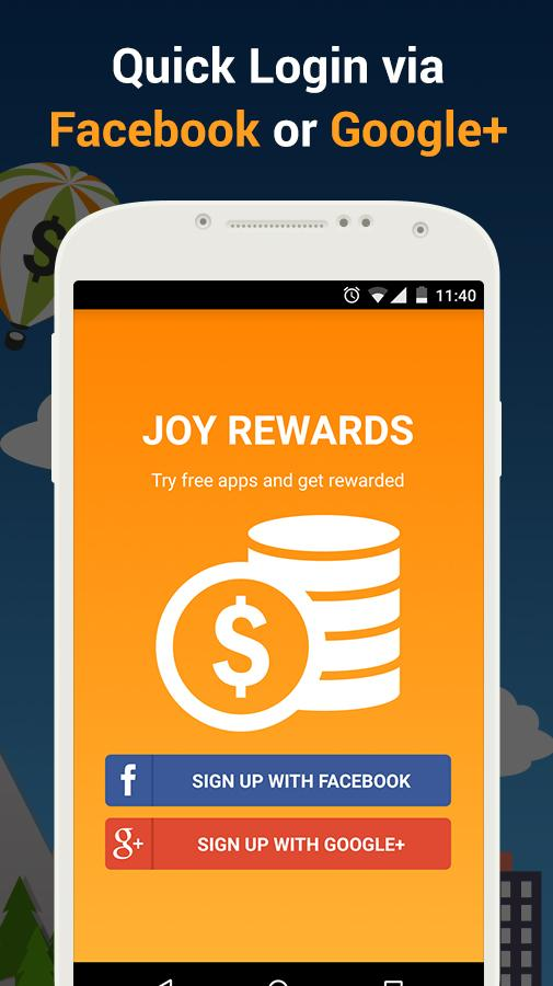 Joy Rewards - Free Gift Cards Screenshot