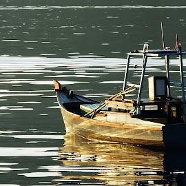 Pompong by Faisal Syafar - Transportation Boats