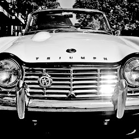 Triumph tr4 by Kevin Stacey - Transportation Automobiles