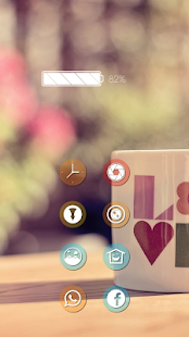 Monotonous white tea theme - screenshot