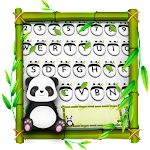 Panda Kawaii Keyboard Icon