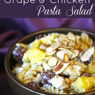 Grape Chicken Pasta Salad