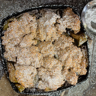Raisin Apple Cobbler