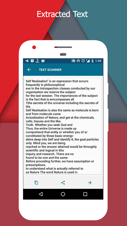 OCR Text Scanner  pro : Convert an image to text Screenshot 2
