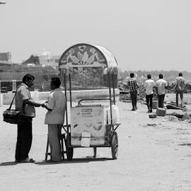 Ice candy by Ajith Iddya - City,  Street & Park  Street Scenes ( shop, friendship, cart, chat, street scene )