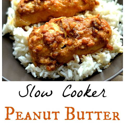 Slow Cooker Peanut Butter Chicken