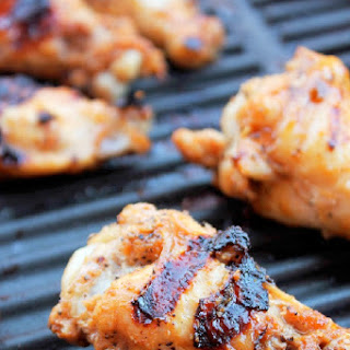 Grilled Sriracha Chicken Wings