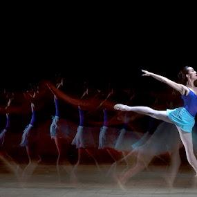 Ballet by Jeffry Surianto - People Fine Art ( girl, ballet, stage )