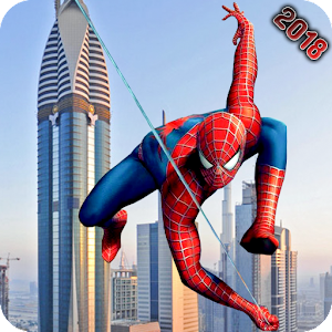 Super Spider Hero Amazing Spider Super Hero Time 2 Online PC (Windows / MAC)