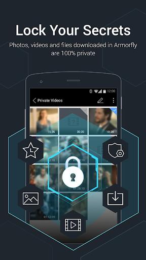 Armorfly Browser & Downloader - Private , Safe screenshot 2
