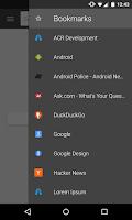 Screenshot of Lightning Browser