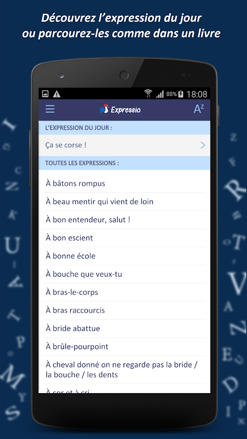 Dictionnaire Expressio Screenshot 4