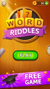 Word Riddles - Free Offline Word Games Brain Test for pc